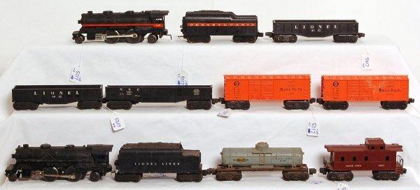 5017: Lionel 2034, 249, 249T, 6034, 6035, 6034, more
