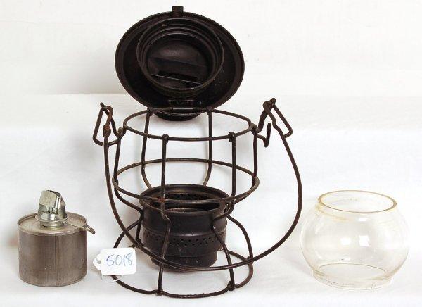 5018: Chesapeake and Ohio Adlake Kero clear lantern
