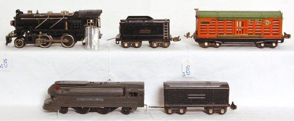 5021: Lionel 1688E, tender, 261, tender, 813