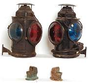 5110 Adlake railroad lantern  marker lights