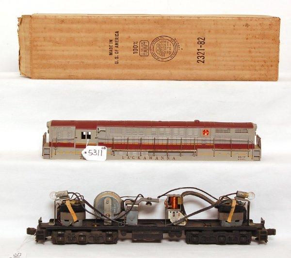 5311: Lionel 2321 Lackawanna FM, maroon, no cracks OB