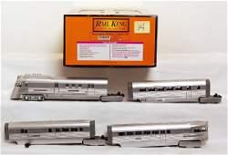 14: MTH Rail King 30-2186-1 Burlington Pioneer Zephyr