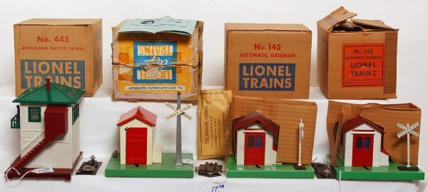 17: Two Lionel 145, 45N and 445 in OB
