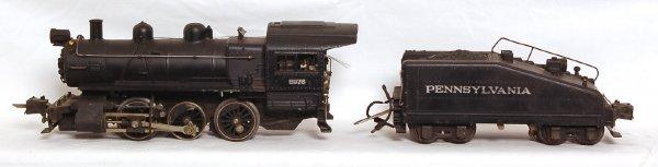 801: Nice Lionel prewar 227 steam switcher, 2227B