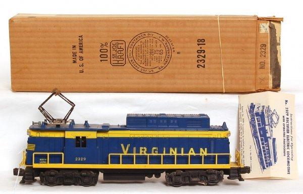 802: Lionel 2329 Virginian rectifier in OB
