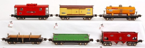 805: Lionel 2812, 2814, 2815 Shell, 2816, 2817, 3811