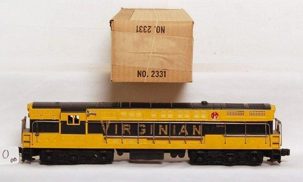 810: Lionel 2331 Virginian FM, brick OB