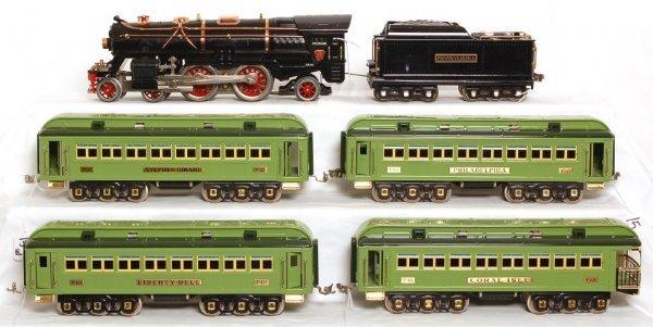 815: MTH Lionel 392E with Girard passenger cars