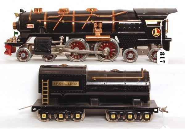817: Lionel prewar standard gauge 400E steam loco