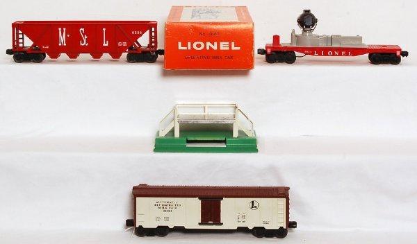 818: Lionel 6822, 6536 MStL, 3662 milk outfit, OB