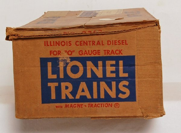 820: Lionel 2363 Illinois Central master carton only