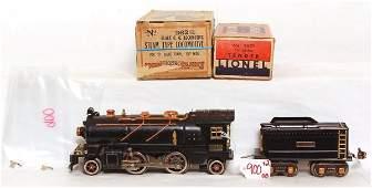 900: Outstanding Lionel prewar 262E steam, OB