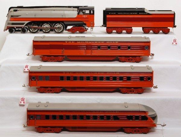 988: Lionel standard gauge Hiawatha six piece train set