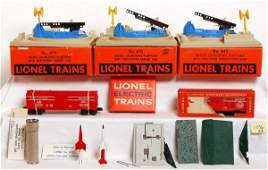 1336: Two Lionel 470 and one 443 in OB