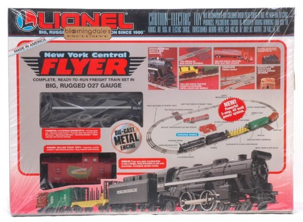 2002: Lionel 11735 NYC Flyer Freight Set MINT Boxed