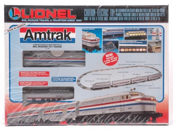 2003: Lionel 11748 Amtrak Passenger Set MINT Boxed