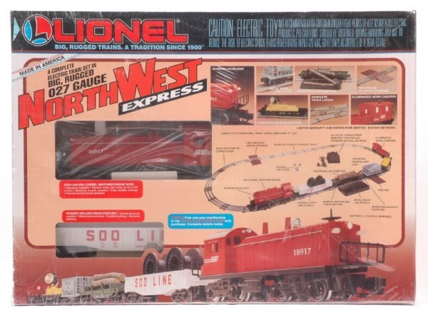 2004: Lionel 11741 North West Express Set MINT OB