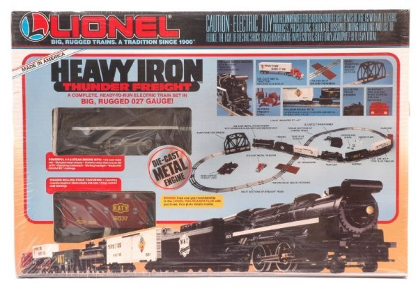 2005: Lionel 11800 Heavy Iron Thunder Set MINT Boxed