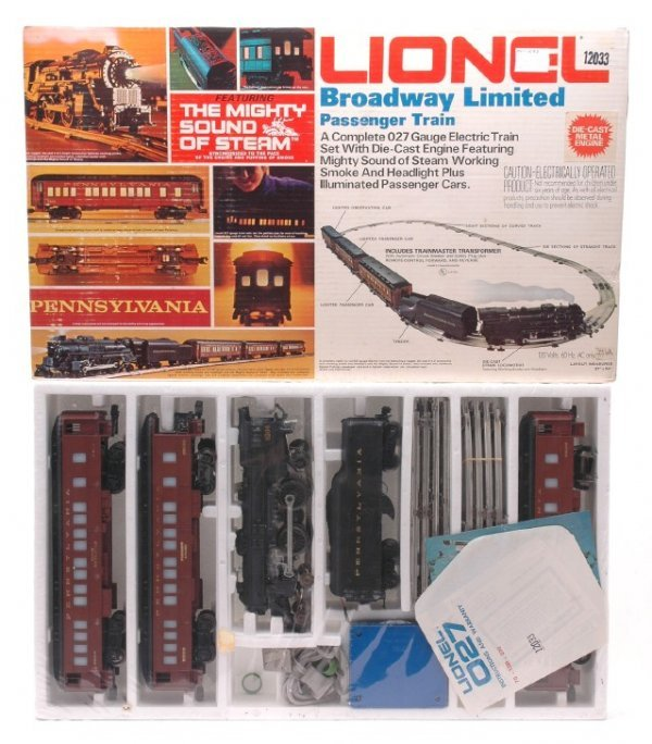 2010: Lionel 1487 Broadway Limited Pass Set MINT OB