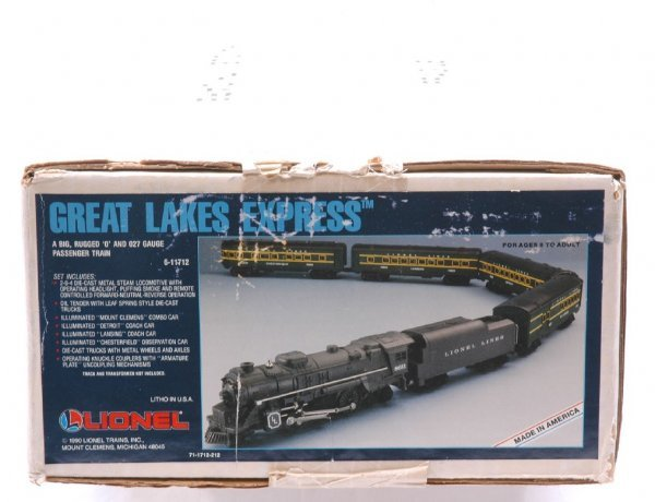 2017: Lionel 11712 Great Lakes Express Pass Set MINT OB