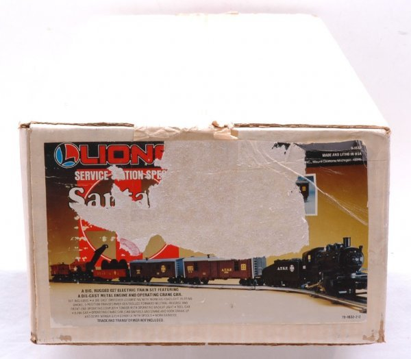 2018: Lionel 1632 Santa Fe Work Train Set MINT Boxed
