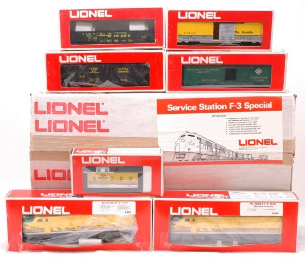 2021: Lionel 1450 D and RGW Freight Set MINT Boxed