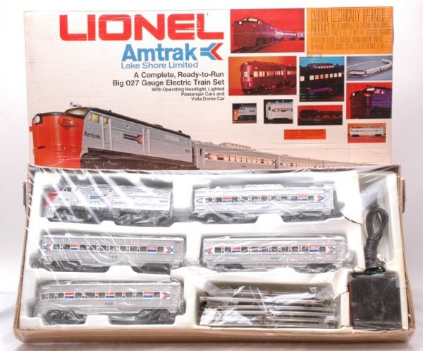 2023: Lionel 1663 Amtrak Lake Shore Limited Set MINT OB