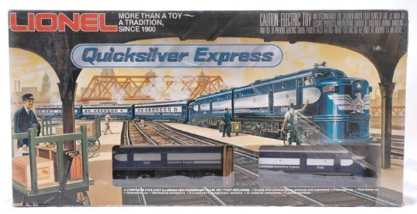 2024: Lionel 1253 Quicksilver Express Pass Set MINT OB