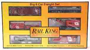 2345 MTH 307003 Jersey Central Freight Set MINT OB