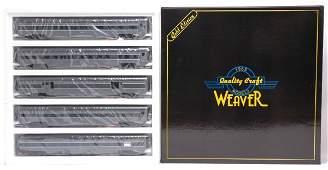 2488: Weaver Union Pacific 5-Car Passenger Set MINT OB
