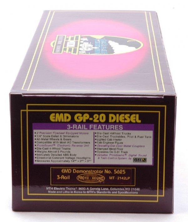 2606: MTH 2142LP EMD Demonstrator GP-20 Diesel MIB