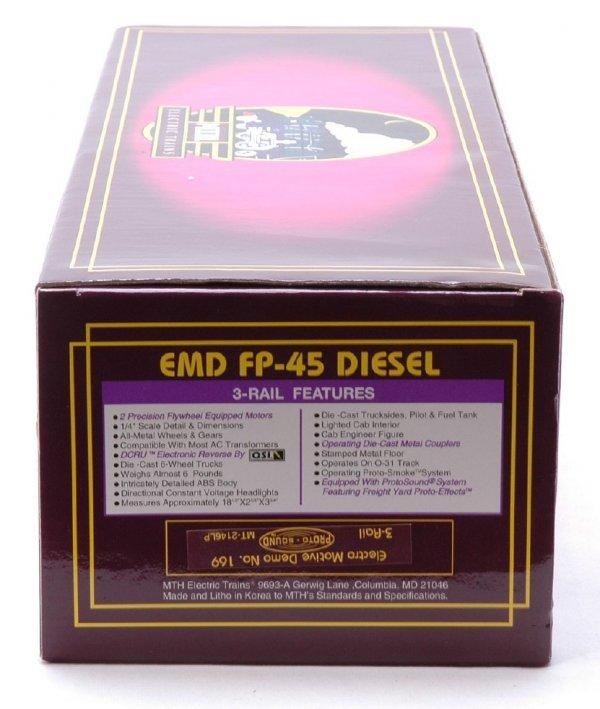 2621: MTH 2146LP Electro Motive Demo FP-45 Diesel MIB