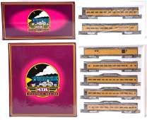 2755: MTH 6506 6510 Union Pacific Pass Cars MINT OB