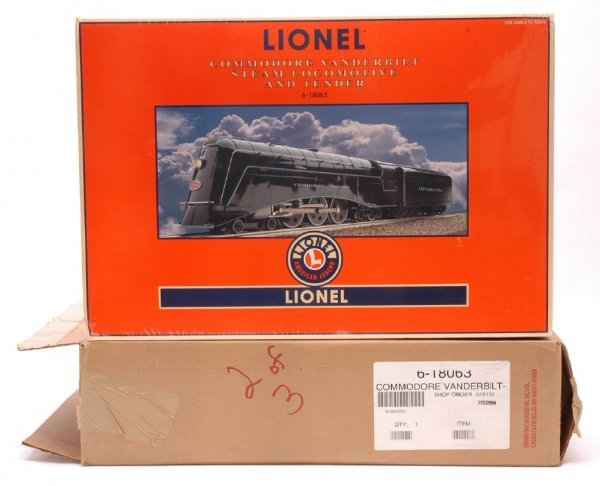 2927: Lionel 18063 NYC Commodore Vanderbilt MINT Boxed