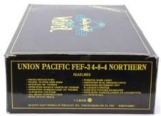 2986: Weaver Brass 8444 Union Pacific FEF3 Northern MIB