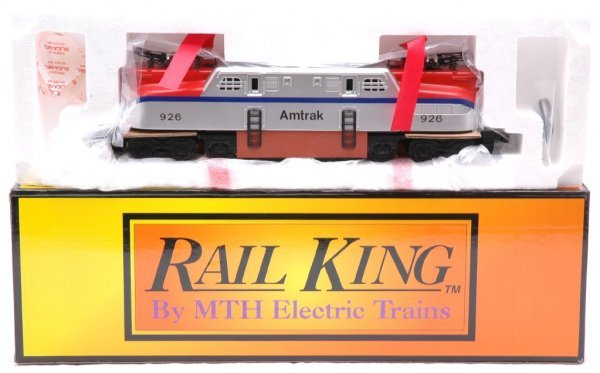 1: MTH RK-2502 Amtrak Silver Blue GG1 MINT Boxed