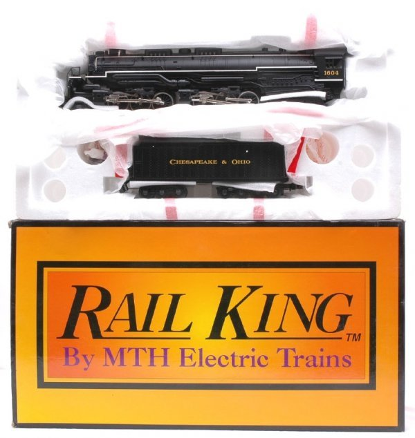 6: MTH 20-1117L C and O Allegheny Steam MINT Boxed