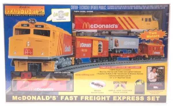 19: MTH 4042-0 McDonalds F40ph RTR Set MINT Boxed