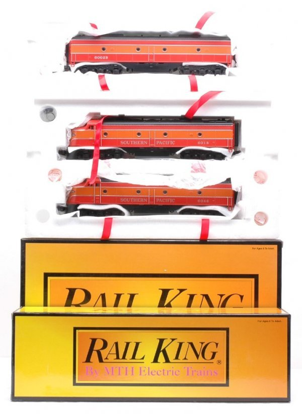 24: MTH  2141-0  2141-3 Southern Pacific ABA MINT OB