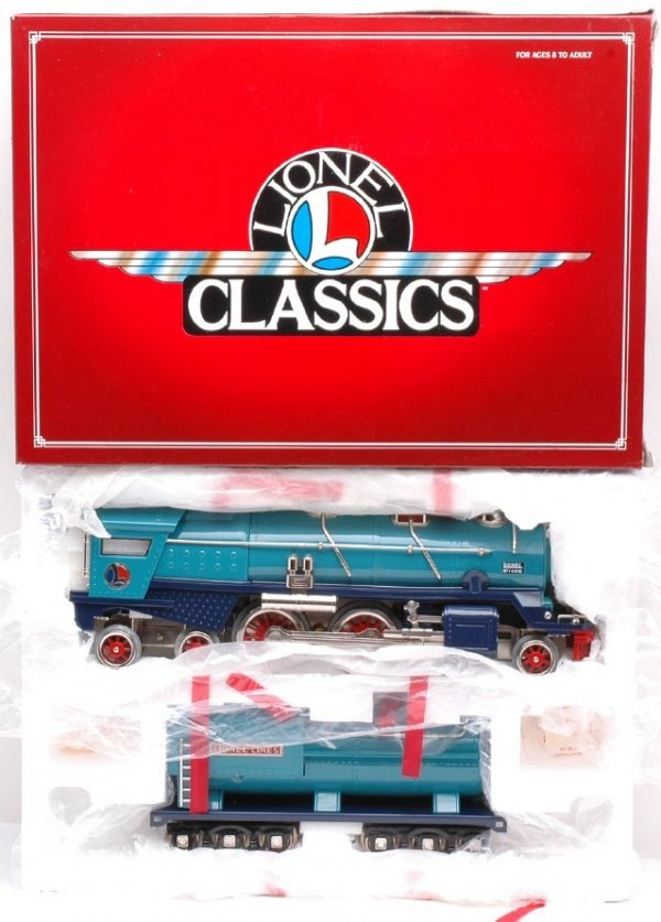 212: Lionel Classics 13103 400E Blue Comet MINT Boxed