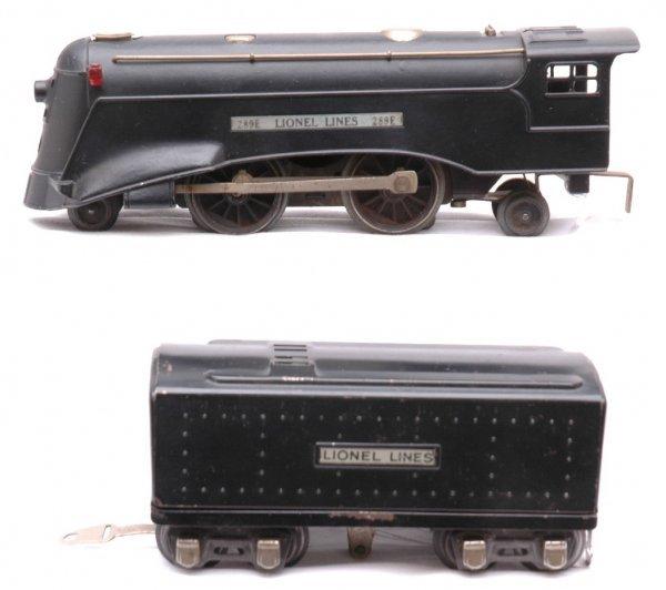 805: Lionel 289E Streamline Steam Loco and Tender