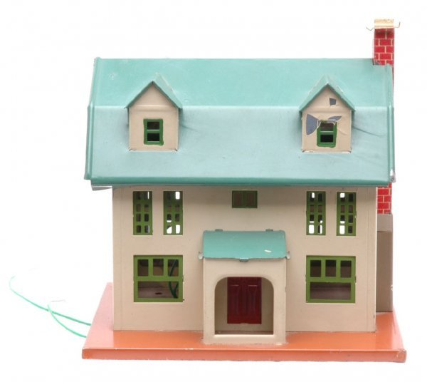 806: Lionel 189 Villa Ivory Sides Peacock Roof
