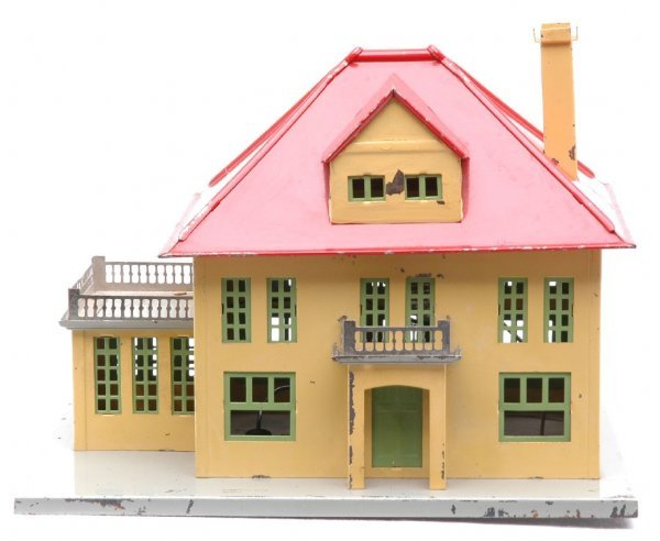 807: Lionel 191 Villa Yellow Walls Red Roof
