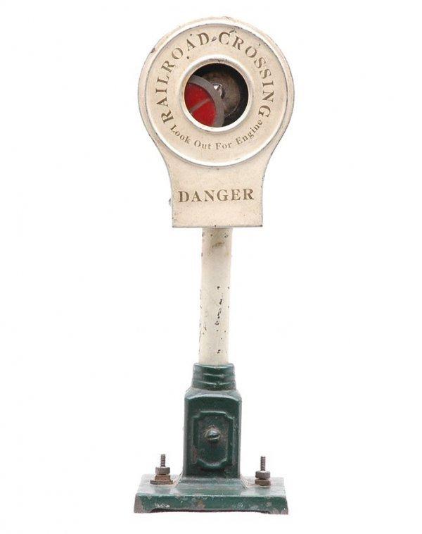 812: Ives 333 Banjo Signal Early Version Green Base