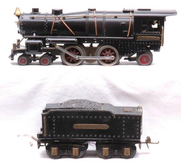 814: Ives 1122 Die-Cast Steam Loco and Tender