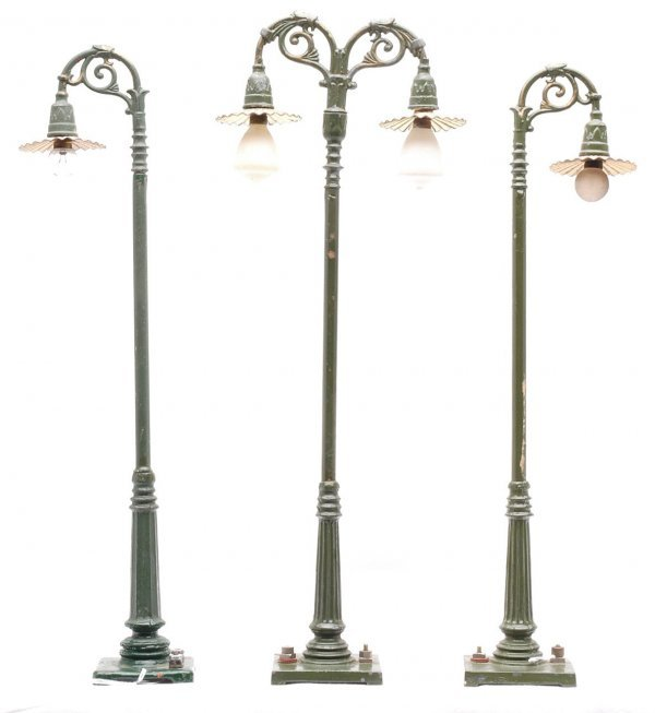 817: Ives 306 Single  307 Double Electric Street Light