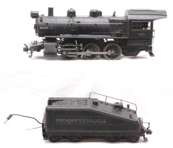 820: Lionel 708 Scale 0-6-0 Switcher 701T Tender
