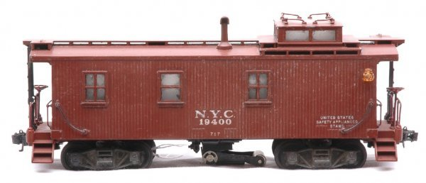824: Lionel 717 Scale New York Central Caboose