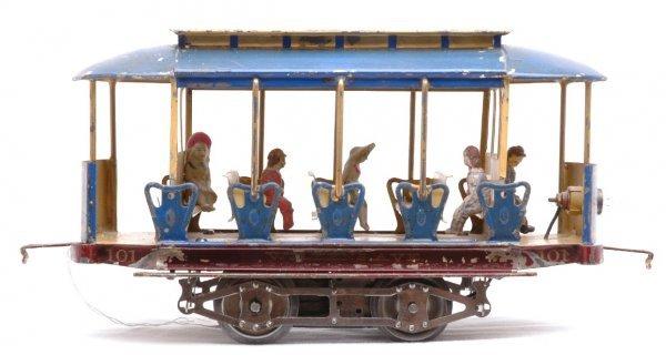 1180: Lionel Std Ga 101 Summer Trolley WILKENS AVENUE