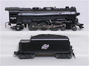 Lionel 18630 CNW 4-6-2 and tender, OB